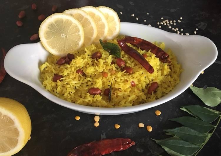 Steps to Prepare Favorite Lemon rice