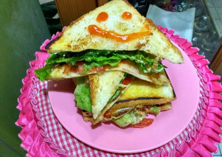 Resep Sandwich Ala Kadar Paling Joss