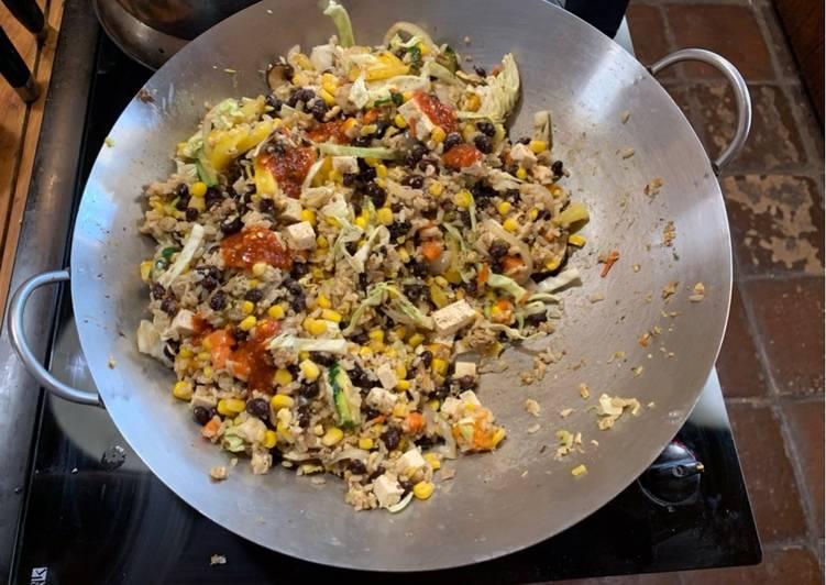 Fruit Fried Rice