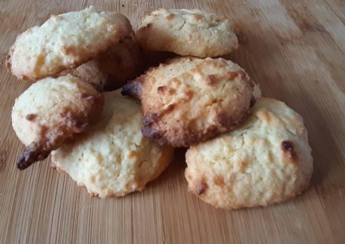 Biscuits moelleux aux jaunes d d'oeufs