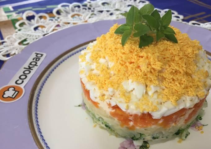 Potato Salad Cake