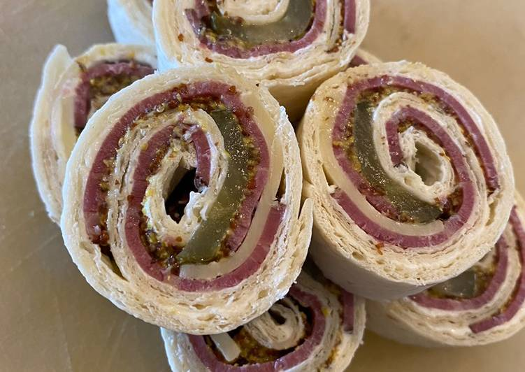 Easiest Way to Cook Tasty Pastrami & Swiss Pinwheels