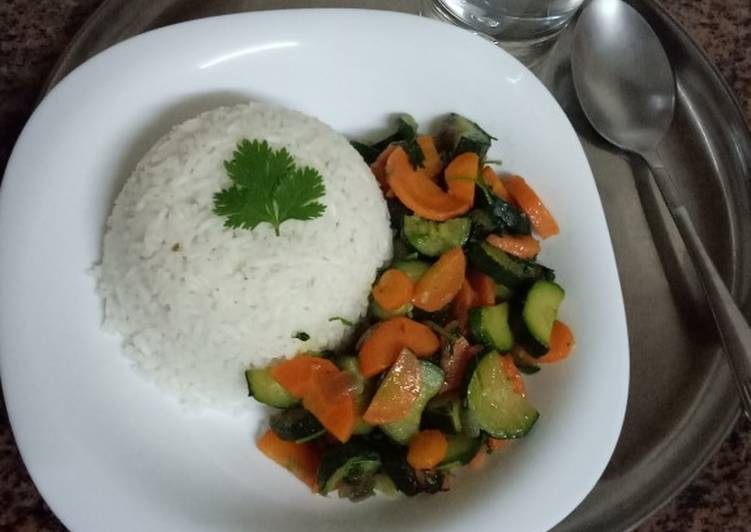 New Secret #weekly jikoni challenge sauted vegetables and fried rice Free Download