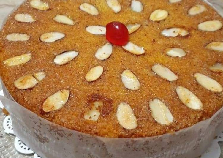 Simple Way to Prepare Any-night-of-the-week Almond cake