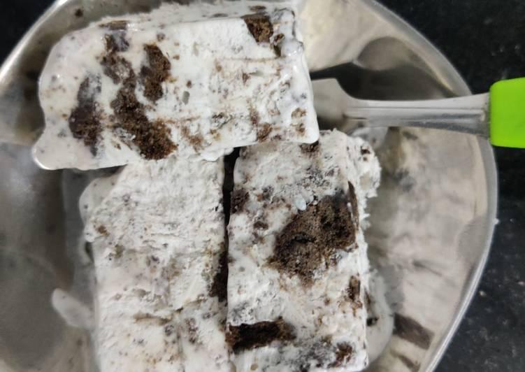 How to Make Speedy Oreo icecream