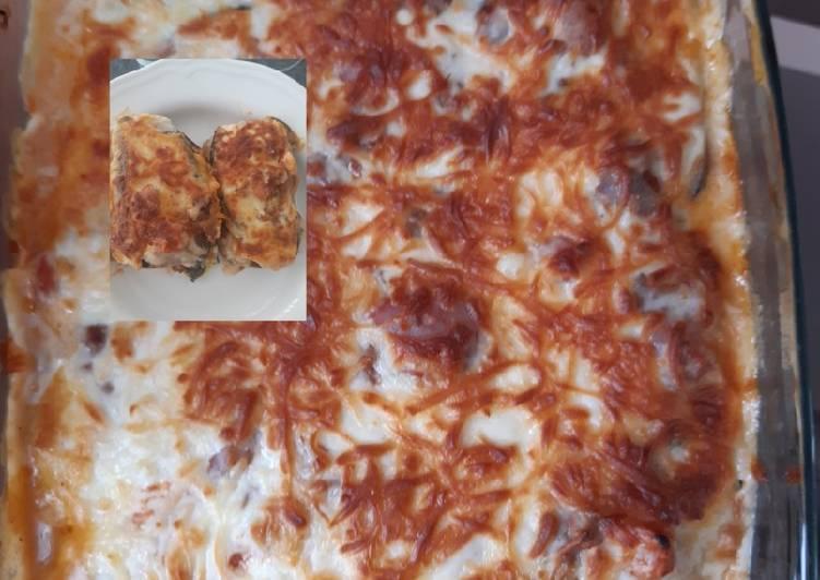 Gemüse Lasagne ohne Lasagne Blätter😅mit Auberginen und Zucchini