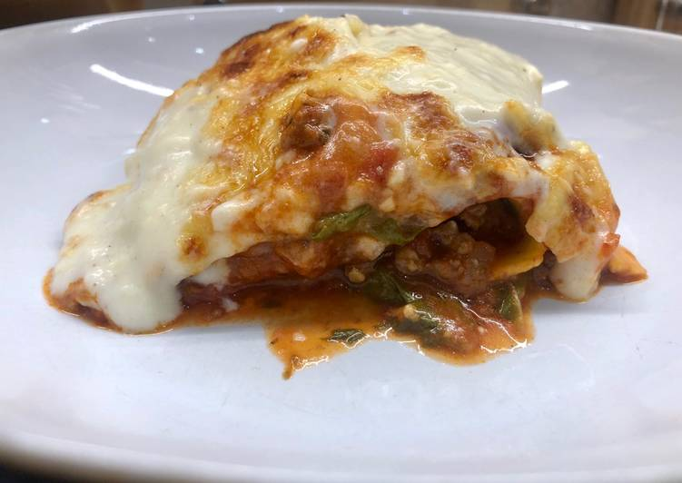 "Recipe: Yummy Lasagne with ""Lockdown"" Veg"