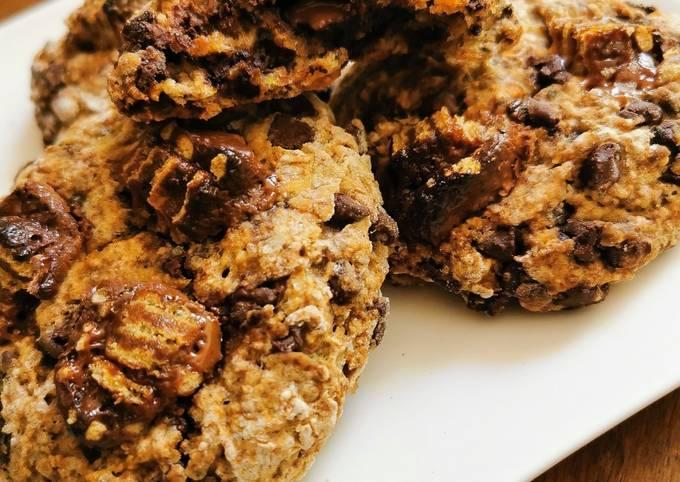 Cookies vegan choco cannelle