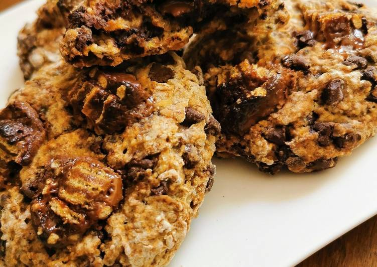 Comment Préparer Les Cookies vegan choco cannelle