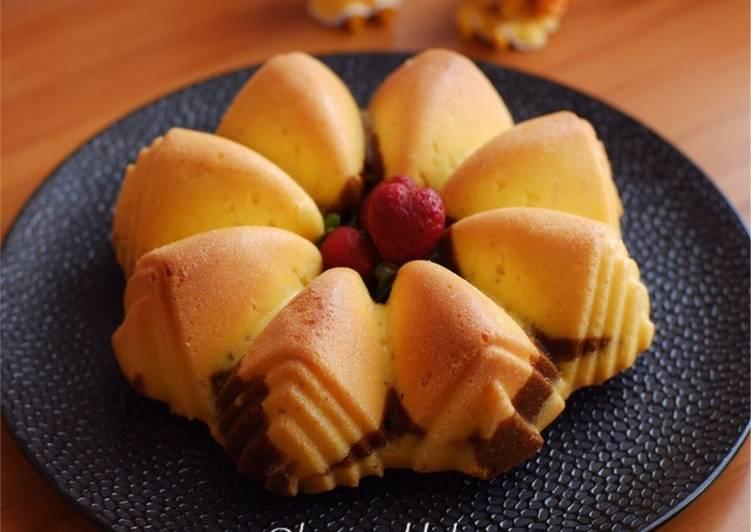 Langkah Mudah untuk Menyiapkan Vanilla Choco Marble anti gagal #homemadebylita Anti Gagal