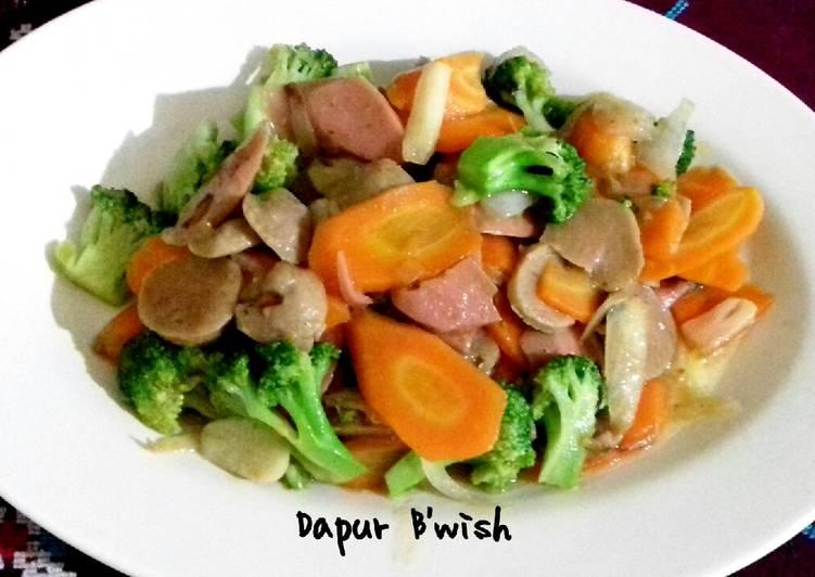 Cah Brokoli wortel