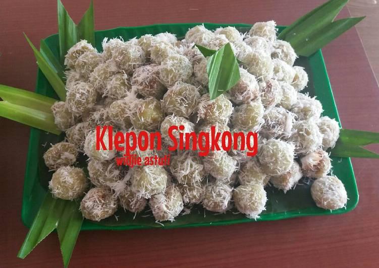 Resep Kelepon Singkong