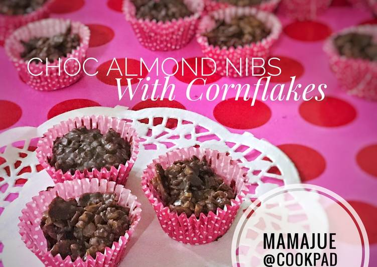 Choc Almond Nibs With Cornflakes