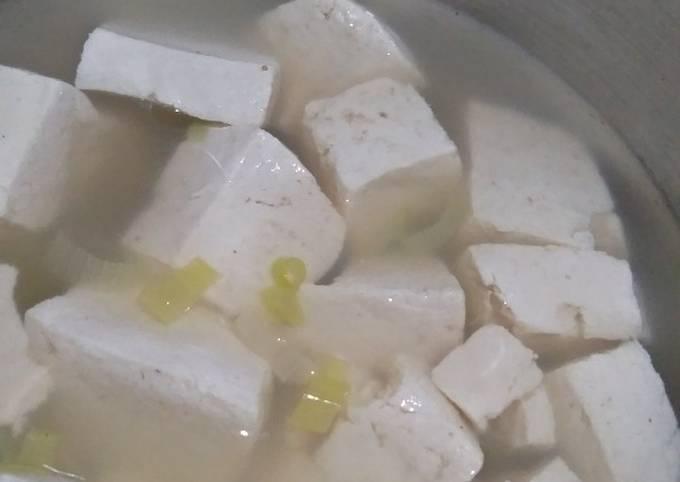 Sup Tahu Lezat untuk diet