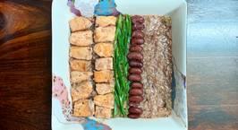 Hình ảnh món Cháo diêm mạch cá hồi nấu đậu thận [Eat clean - Lose weight]