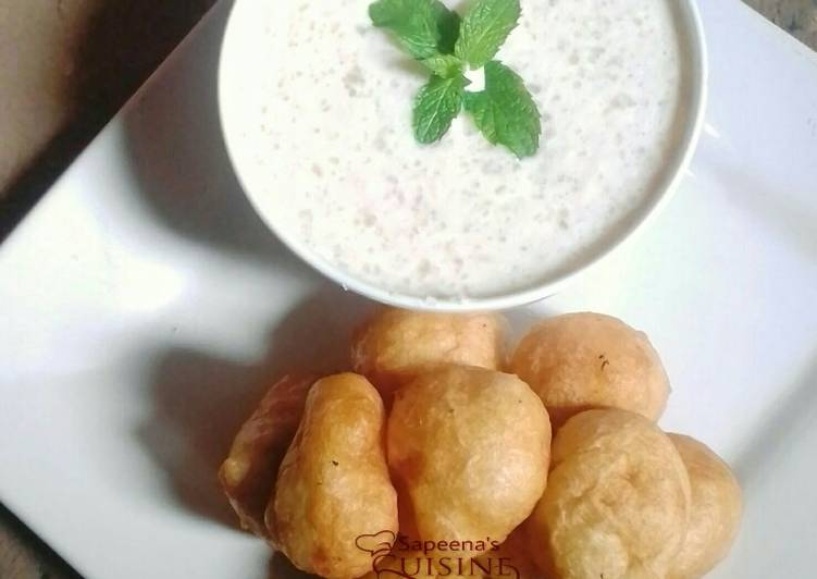 Recipe of Super Quick Homemade Puff puff and tapioca oat