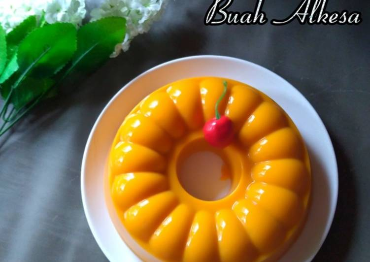 #Pudding Buah Alkesa
