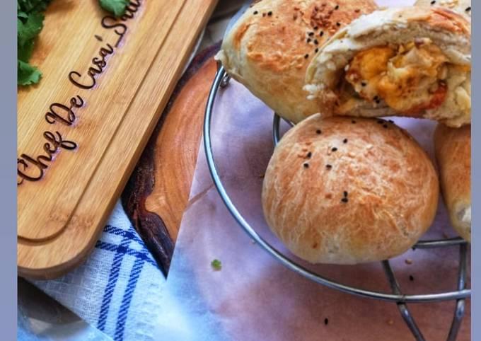 Chicken cheese buns