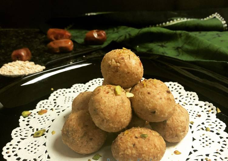 Simple Way to Prepare Favorite Oats & Date Balls