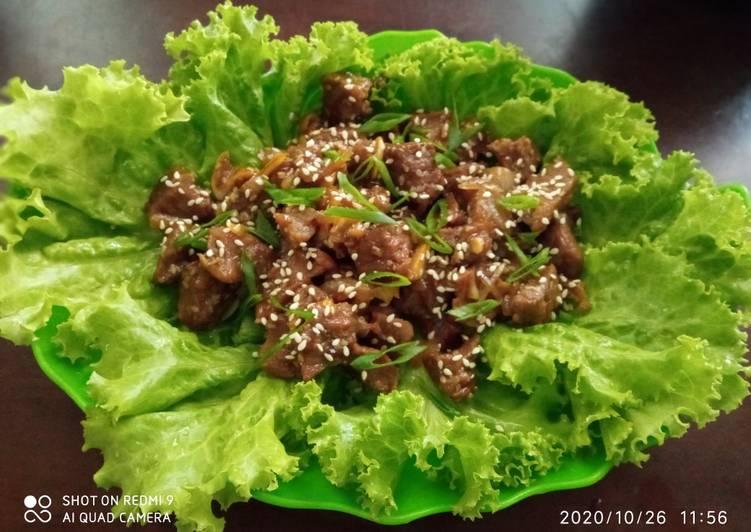 Spicy Korean Bulgogi