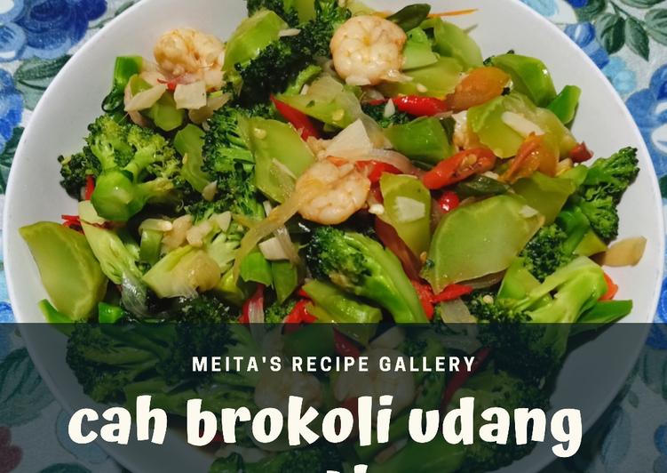 Cah Brokoli Udang Saos Tiram