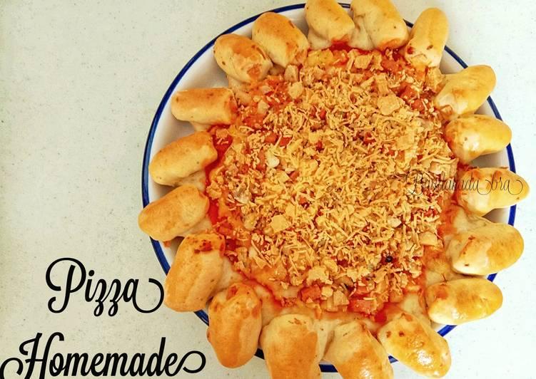 Pizza Homemade Stuffed Crust