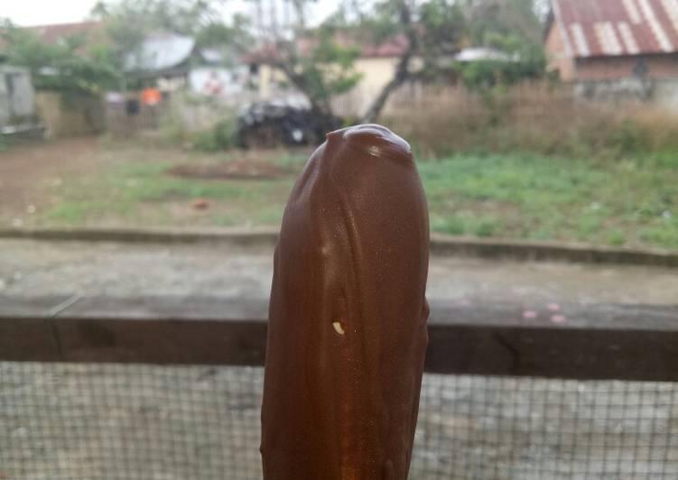 Es Pisang Coklat