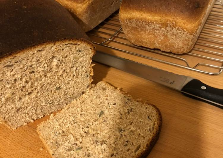 Recipe of Favorite Multi-seed wholemeal bread