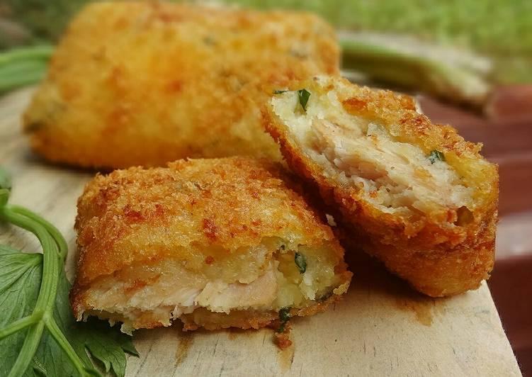 Potato Chicken Cordon Bleu