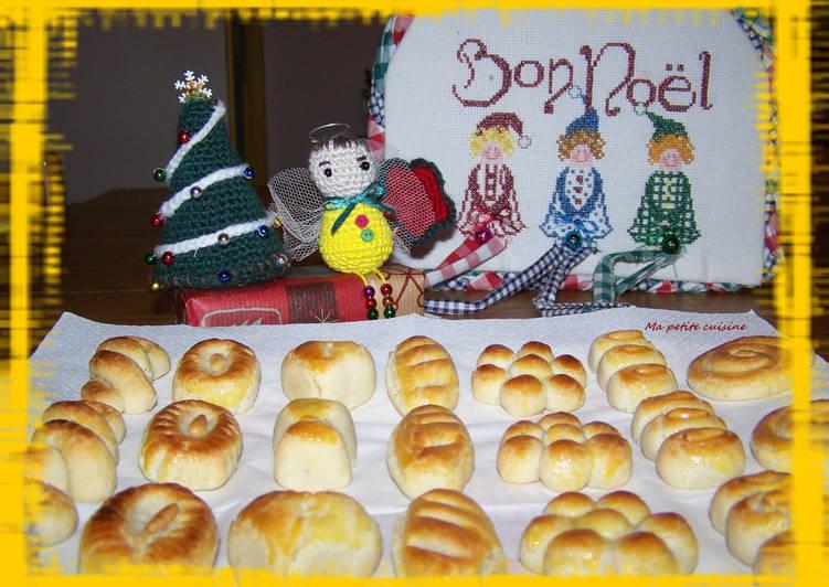 Mazapanes pour les fêtes de Noël