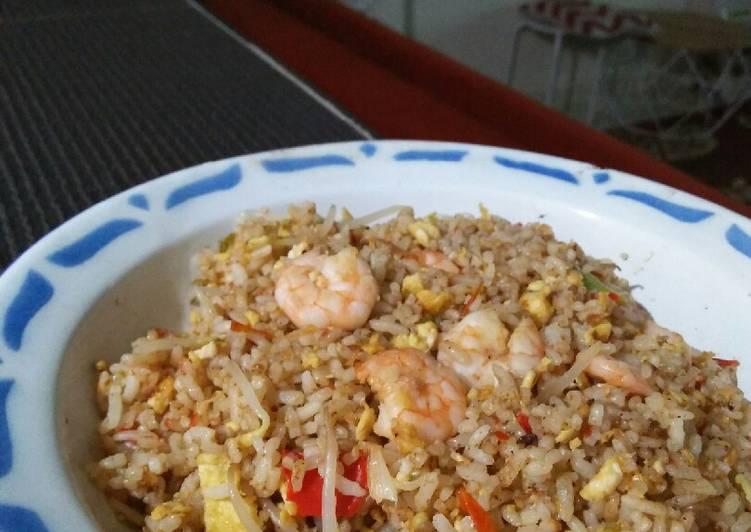 Resep Nasi goreng bekal anak Paling Mudah