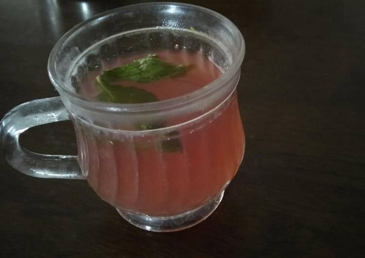 Grape tea