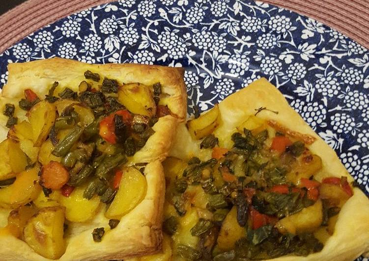 Mix Veg Puff Pastry Recipe By Sameera Sood Cookpad India