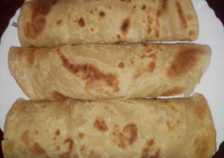 Easiest Way to Prepare Quick Soft layered Chapati