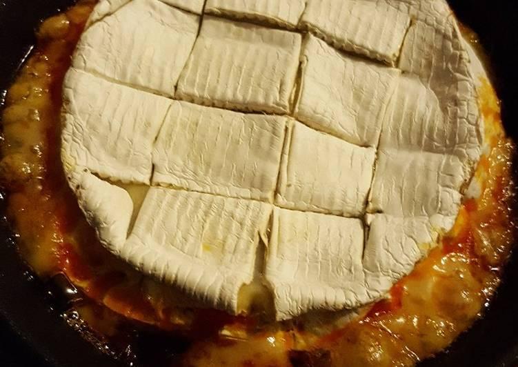 Camembert roti chorizo/noisette