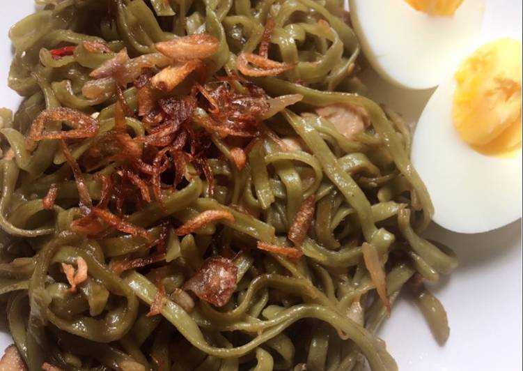 Resep Mie kale ladang lima low fat Terenak