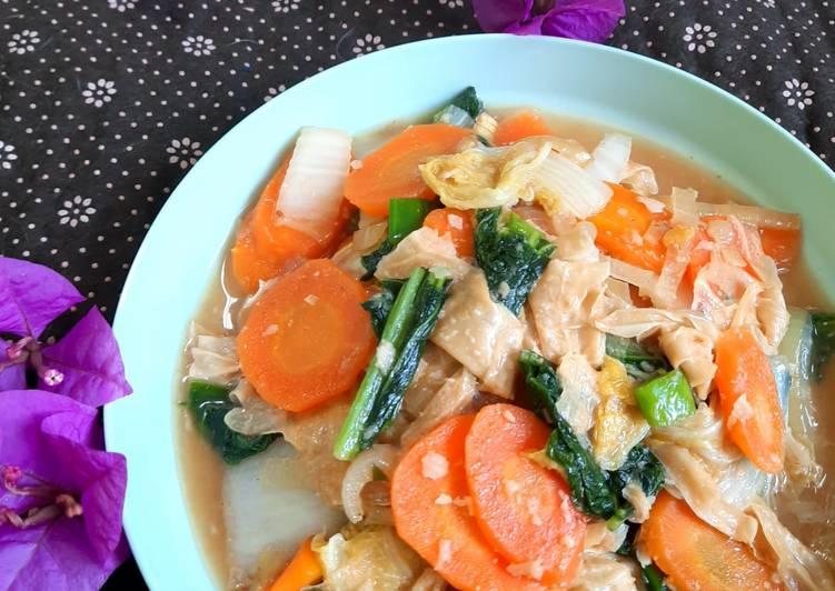 Recommended Resep Capcay Kuah Nyemek Gampang Banget