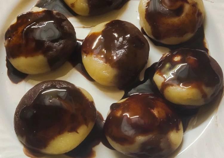 Steps to Prepare Ultimate Chocolate Rasgulla