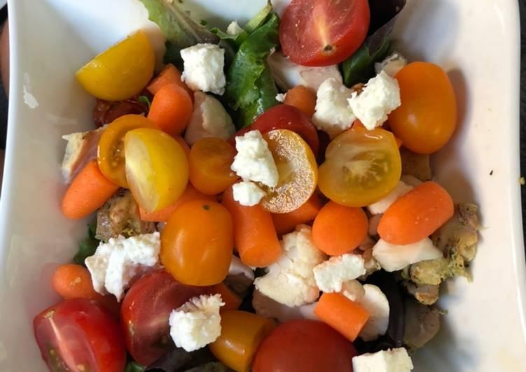 Comment Cuisiner Salade colorée