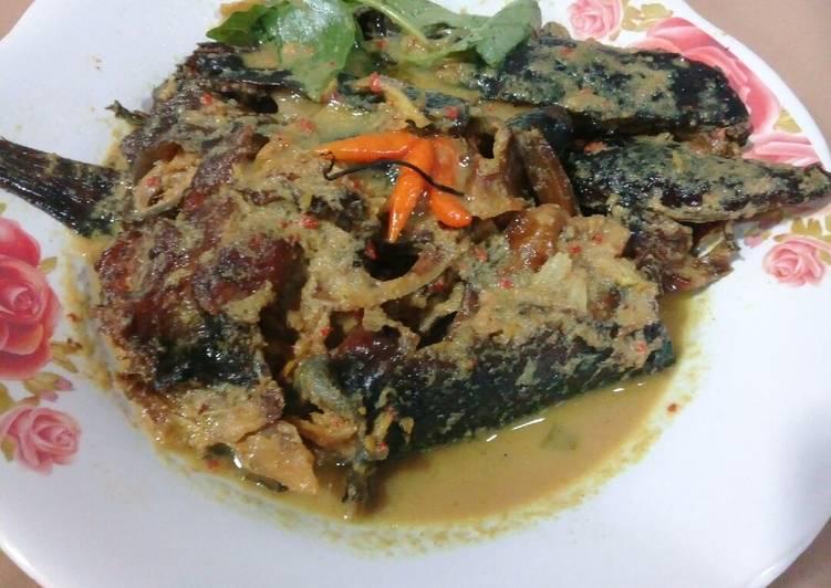 Bagaimana Membuat Gulai Ikan Salai Ikan Asap Yang Sempurna Resep Masakanku
