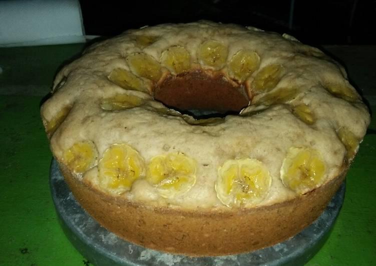 resep membuat Bolu pisang 1 telur - Sajian Dapur Bunda