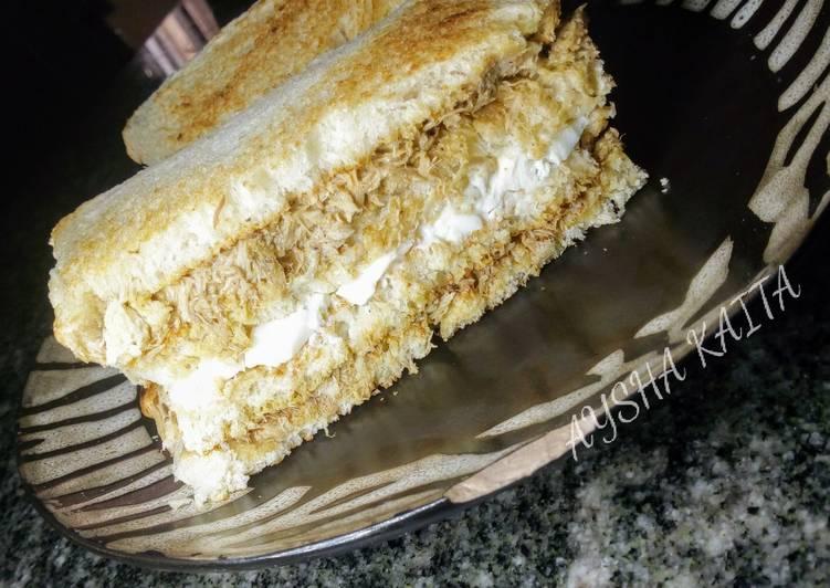 10 Minute Easiest Way to Make Love Club sandwich