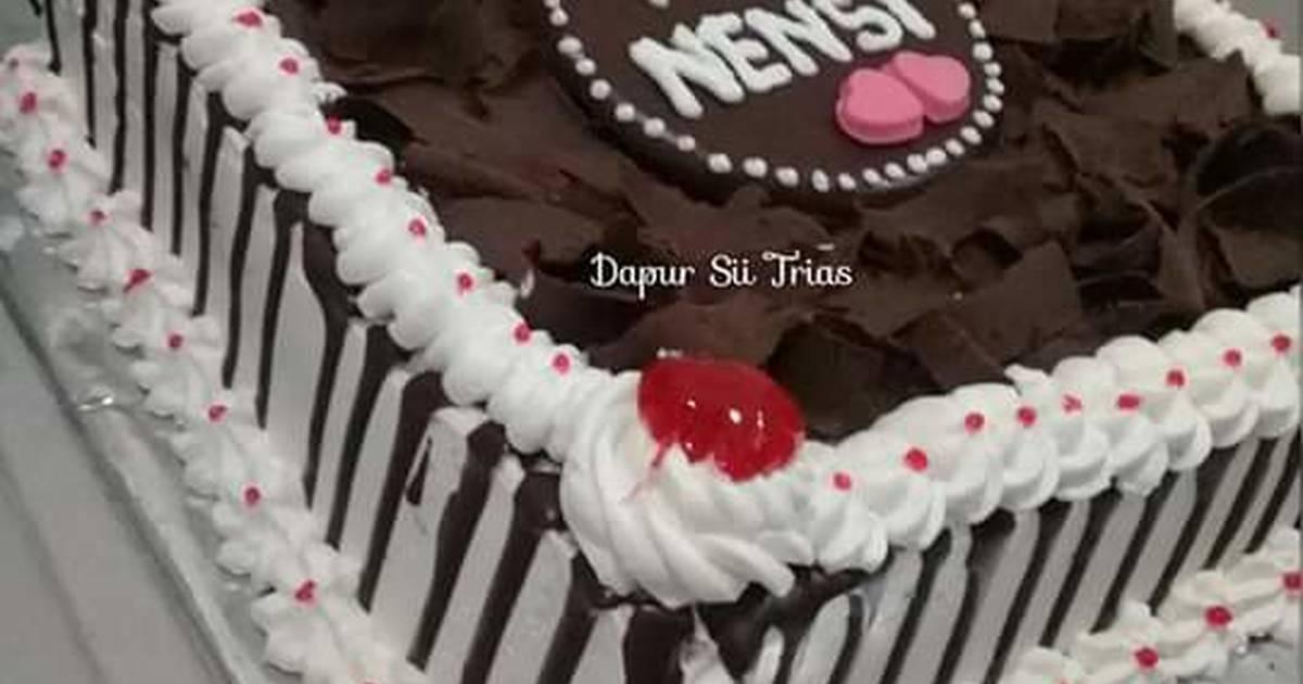 Coklat Leleh Untuk Hiasan Cake