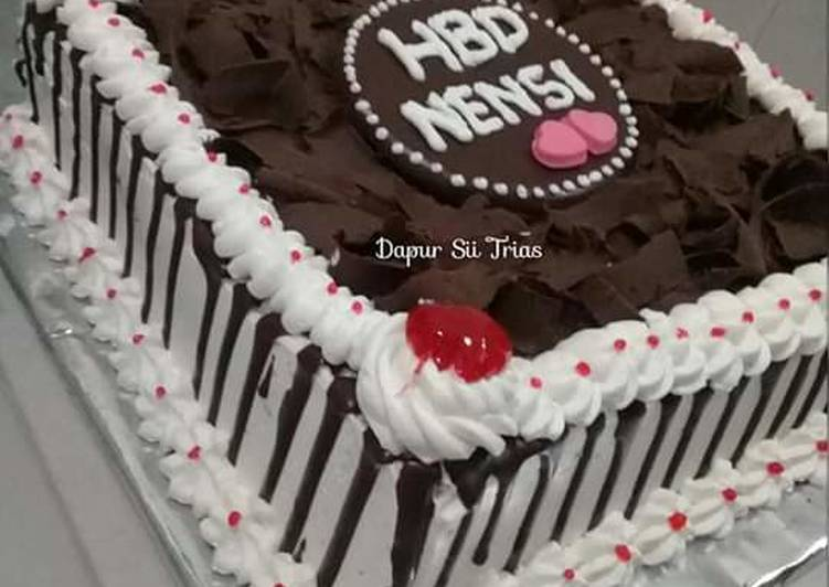 Resep Coklat Leleh Untuk Hiasan Cake Oleh Sii Trias Cookpad