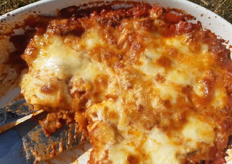 Easiest Way to Make Tasty Lasagne