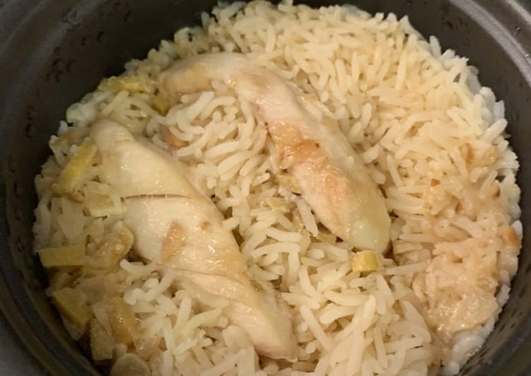 Nasi Hainan Ricecooker Simple