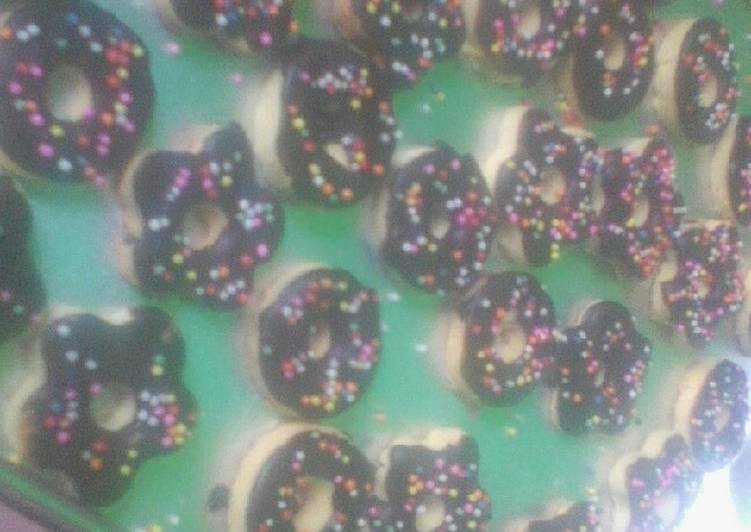 Donut cookies simpel