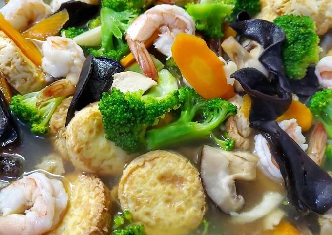 Resep Sapo Tahu Seafood Oleh Yunie Cookpad