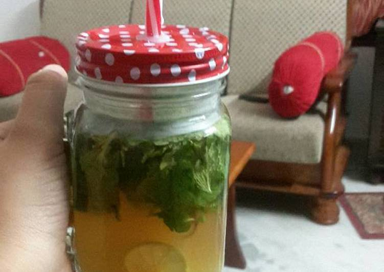 Easiest Way to Cook Tasty Weight loss drink