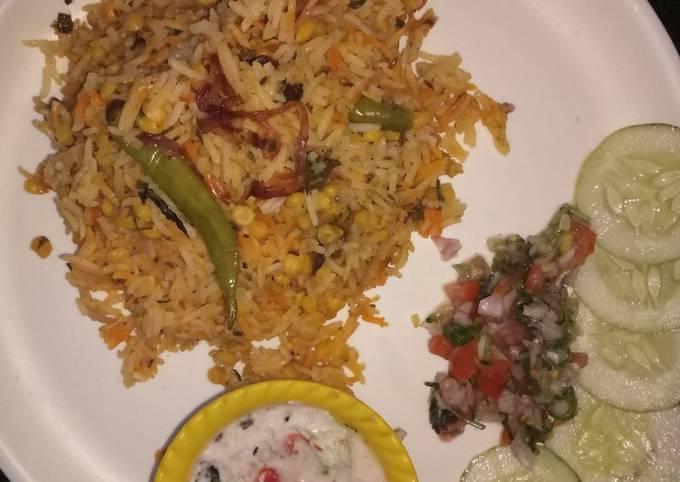 Recipe of Ultimate Chana dal biryani